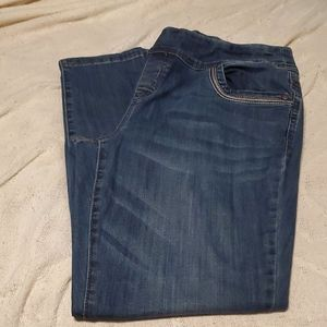 Christopher &Banks size 12 average pull on jeans s
